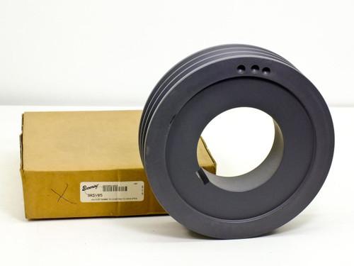 Browning 3R5V85 3-Groove Split Taper Sheave Cast Iron 5V Belt R1 Bushing - NEW