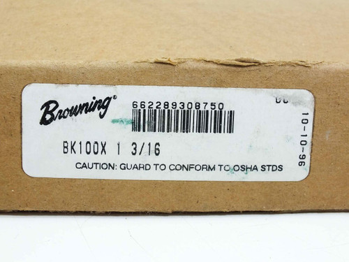 Browning BX100X 1-3/16 1-Grove Sheave One Slot - New Open Box