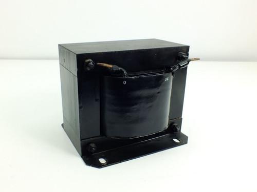 Unbranded Black 1.5KVA Estimated Transformer PRI: 240 V SEC: 24 V