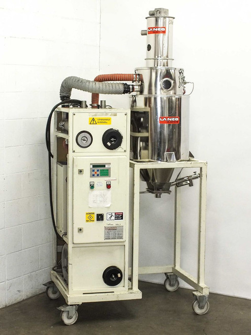 Lanco LTK-40 Polycarbonate Plastic Materials Dryer Injection Molder -AS-IS