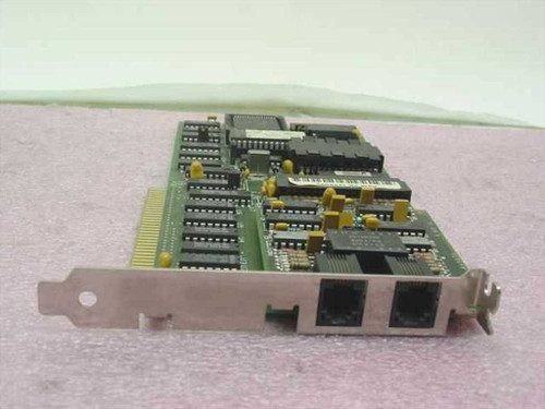 IBM 72X80178-BIT ISA Baseline Network Card (2X)RJ-11 PS/2 853 - VINTAGE