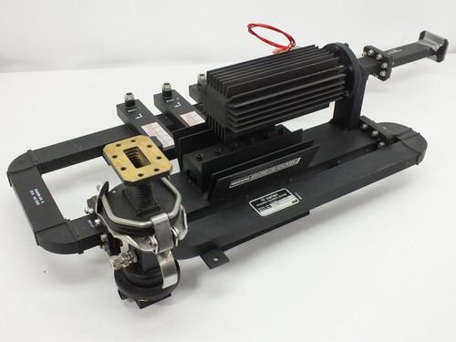 Varian VUJ-8527-01 Rigid C-Band Microwave Waveguide & Load Metering Assembly
