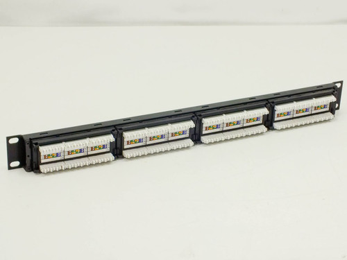 Signamax 24-Port CAT 5E patch panel 24458MD-C5E