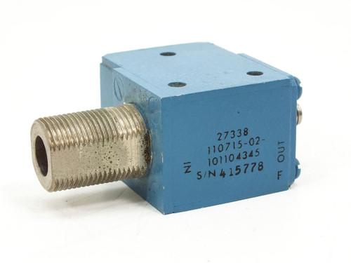 Blue RF Isolator- 27338 110715-02