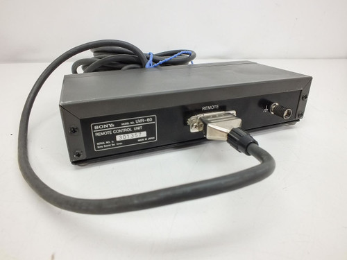 Sony UVR-60 TBC Remote Control Unit for Betacam Decks with Data Cable - UVR60