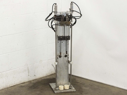 Mannesmann Rexroth P-68192-0050 Floor-Standing Pneumatic Cylinder Driven Press