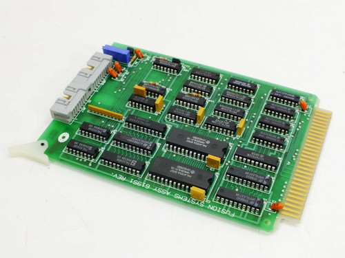 Fusion Systems 61951 Operator / Interface Controller Card - PWB 62871