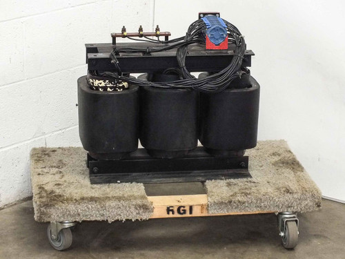 Varian 01-000062-00H 12kVA 3-Ph Transformer from MED Klystron RF Power Supply
