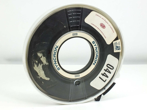 """9-Track Certified Total Surface 1/2"""" Tape Reel 10.5-inch diameter 3200 FCI"""