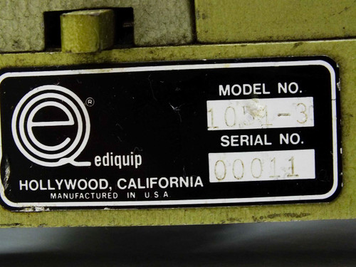 Hollywood 1051-3 3-Gang Ediquip Reel-to-Reel Film Synchronizer