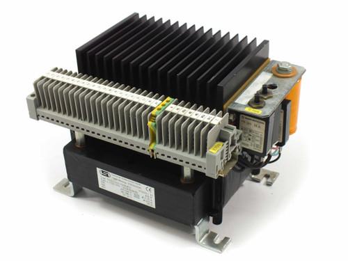 J. Schneider NGDS 2425-930818T3 Transformer PRI: 220/460 VAC SEC: 24 VDC 25 Amp