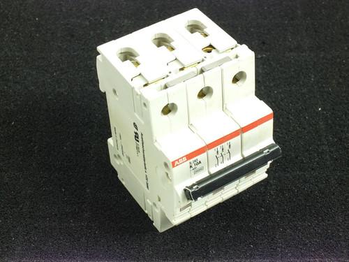 ABB K10A S283 480Y/277 VAC 10kA 3 Pole Circuit Breaker S283-K10W