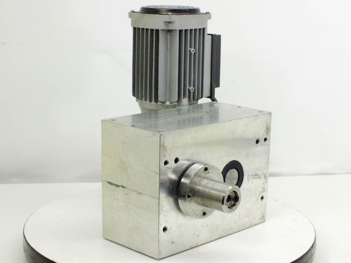 TaktOMat 1 XP 80 Gear Box Parallel Indexer / Speed Reduction w/ SIGH GMBLT Motor
