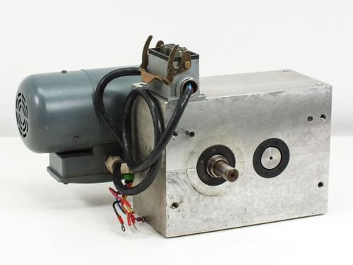Taktomat Parallel Shaft Indexing Drive w/ Georgii Kobold Motor (IP 80 E)