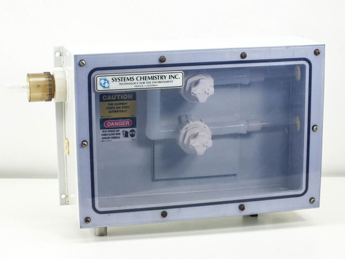 Fluoroware 201-35 Chemical Control Valves in Sealed Enclosure