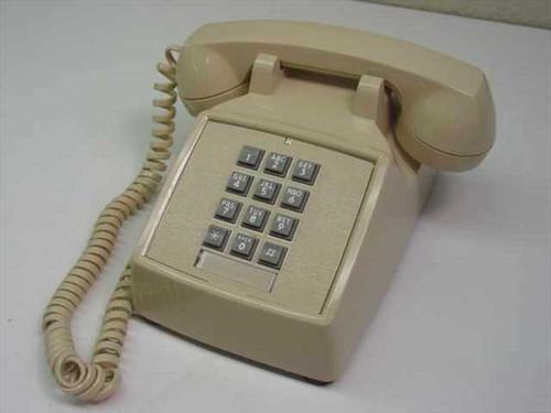 ITT / Cortelco 250044-MBA-20M Vintage Single Line Telephone - Beige