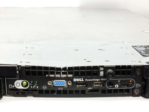 Dell Dual Xeon 3.2GHz, 8GB Mem, CD-ROM, 1U Rackmount Server (Poweredge 1850)