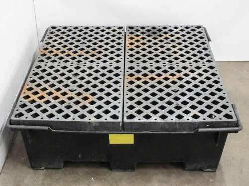 Polyethylene 50x50x16 80 Gallon High Density Chemical Spill Sump Container