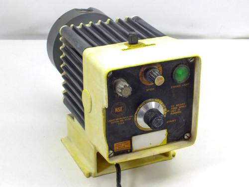 Liquid Metronics Electromagnetic Dosing Pump with Stroke Adjustment Knob
