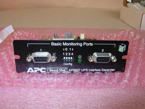 APC UPS Interface Expander Smart Slot w/Manual (AP9607) - No Battery