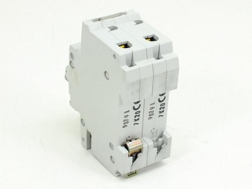 ABB S272-K20A Circuit Breaker 20AMP 2POLE 277/480VAC Din Rail Mount