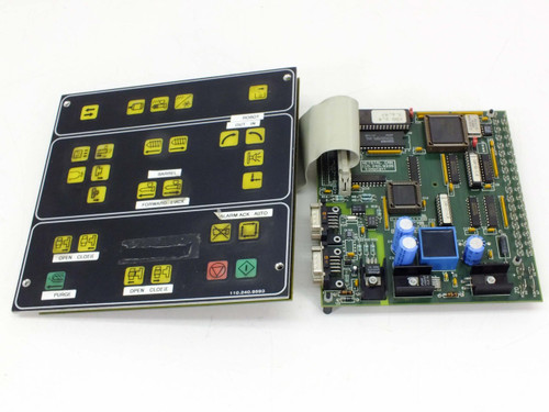 Netstal KOL 110.240.9539 Control Panel with CAN 110.240.9335 Komplett Interface