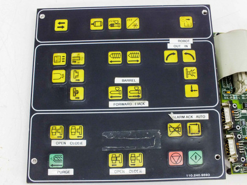 Netstal Control Panel with CAN 110.240.9335 Komplett Interface