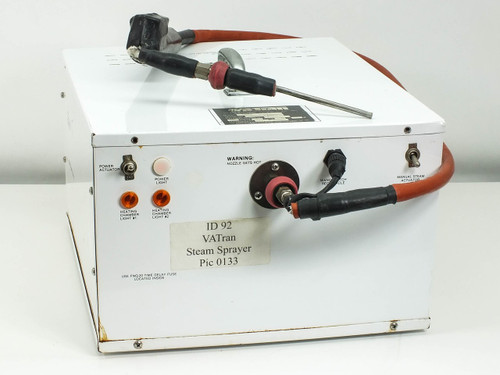 """Va-Tran MPS-II Micro Precision Steam Cleaner with Nozzle 115 VAC 60 Hz """"AS - IS"""""""