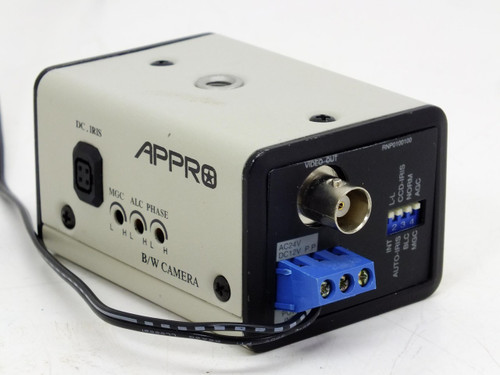 Appro BV-7105EN B/W Security Camera with 12V AC Adaptor