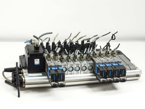 Festo IFB8-02 Bus Interface Unit with Solenoid Valves JMVH-5 D502 D702 MVH-5
