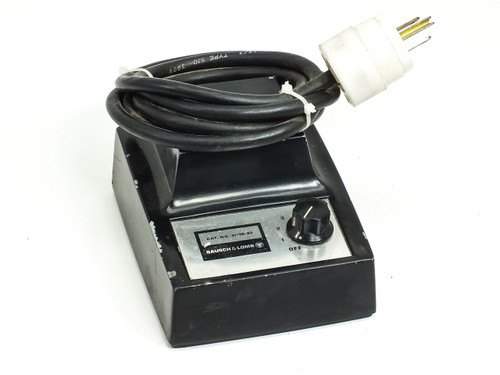 Bausch & Lomb 31-35-30 Microscope Light Source Transformer OUTPUT: 5~6.5 Volt AC