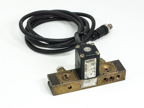 Burkert 00120617 Solenoid Valve Control Head 2/2WAY 24VDC 8W