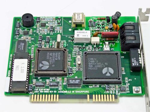 IBM 14.4K ISA Data/Fax Modem w/Dip Switch PN 55H7996 30H1598
