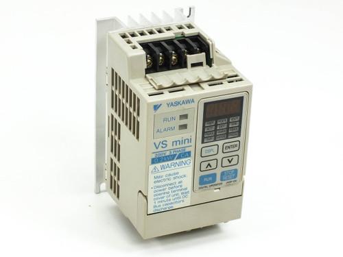 Yaskawa CIMR-XCAA20P2 Inverter Drive for Motors - VS mini 200V 3 PH 0.2kW