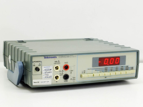Tektronix Digital Multimeter (CDM250)