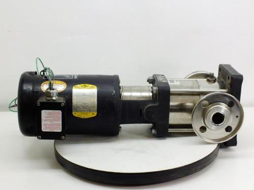 Baldor 1.5 HP Motor with Grundfos CR 2 Water Pump (85.600005)