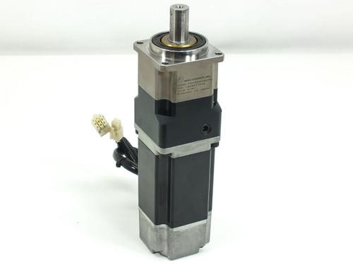 Yaskawa Servo Motor 200V 2.6A 0.53HP 3000rpm w 10 1 Reducer (SGML-04AF14)