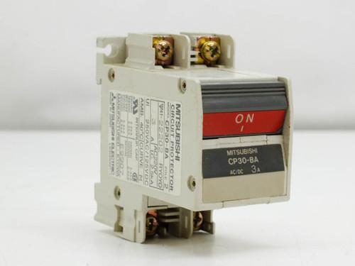 Mitsubishi CP30-BA 3 Amp 2 Pole AC DC Circuit Protector