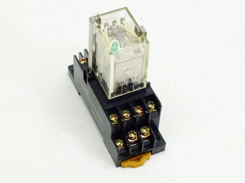 Omron Miniature Power Relay (MY4N-D2) 24vdc 5amp