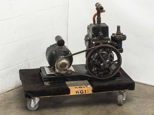 Central Scientific 93020 Cenco-Hypervac 25 Belt-Drive Vacuum Pump 3/4 HP - AS IS