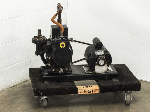 Central Scientific 93020 Cenco-Hypervac 25 Belt-Drive Vacuum Pump 3/4 HP Motor
