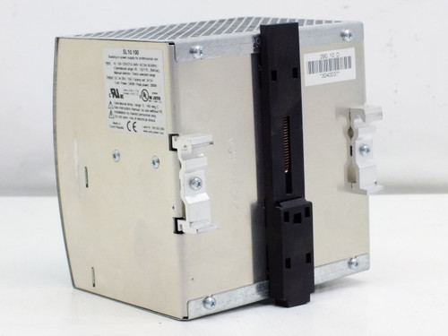 Puls SL10.100 DIN-Rail Mount Power Supply PRI: 115/220 VAC SEC: 24 VDC 10 Amp