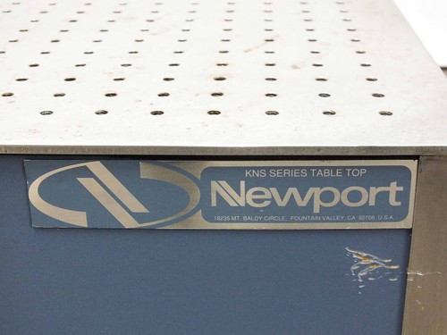 "Newport KNS Series 5' x 3' Optical Breadboard 1"" Grid M6 Holes Stainless Steel"