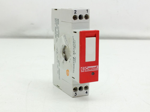 Crouzet 84130104 GMS-ODC DIN-Rail Mount Relay Module 17.5mm