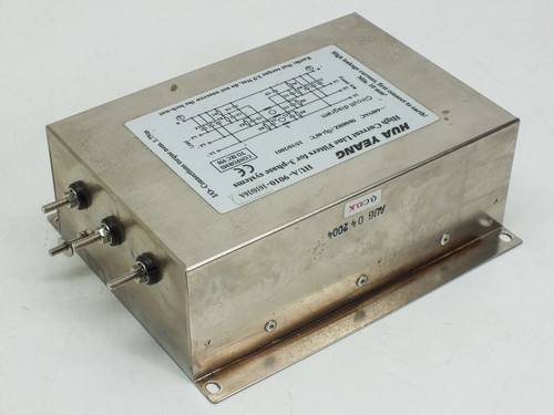 Hua Yeang High Current Line Filter for 3 Phase System 16A HUA-9010-1610/16A