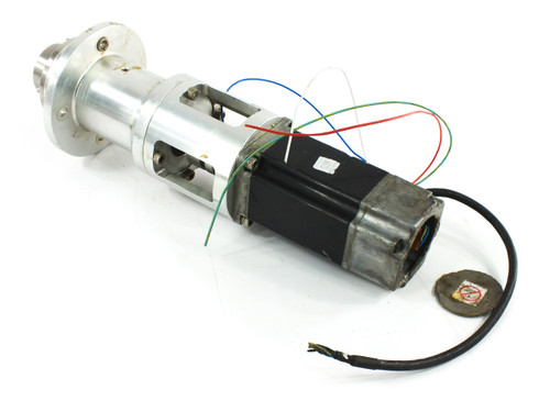 Yaskawa SGML-04AF14 Servo Motor 200V 2.6A 0.53HP 3000rpm - DAMAGED - As Is