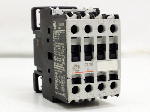 GE IEC Contactor Nonreversing with Ring Terminal Capacity CL00A310R