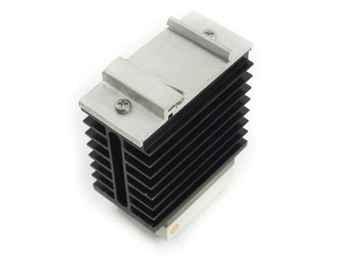 Crouzet 84134020 50 Amp Solid State Relay DIN-RAIL 24-280 VAC T0710 w/Heatsink