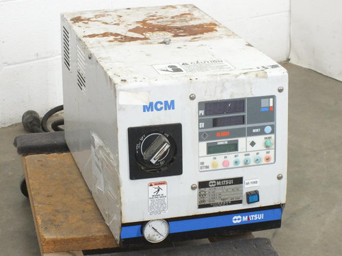 Matsui MCM-151 Plastic Injection Molder Temperature Controller 460V 3PH - AS IS