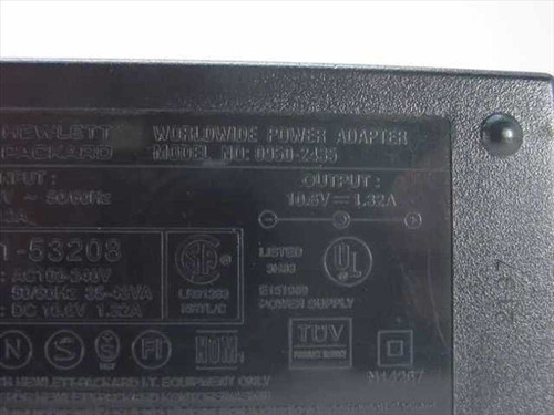 HP 0950-2435 AC Power Adapter 10.6VDC 1.32A Deskjet - Deskwriter